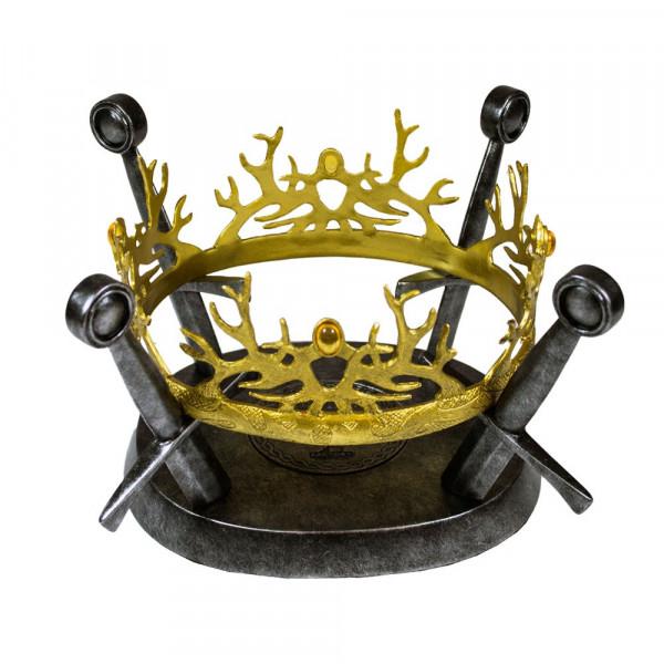 game of thrones r plique 1 1 couronne baratheon lannister. Black Bedroom Furniture Sets. Home Design Ideas