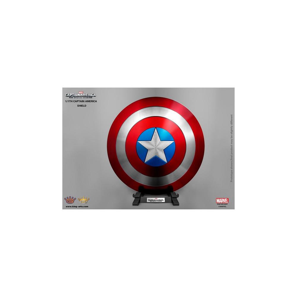 king arts captain america winter soldier shield bouclier. Black Bedroom Furniture Sets. Home Design Ideas