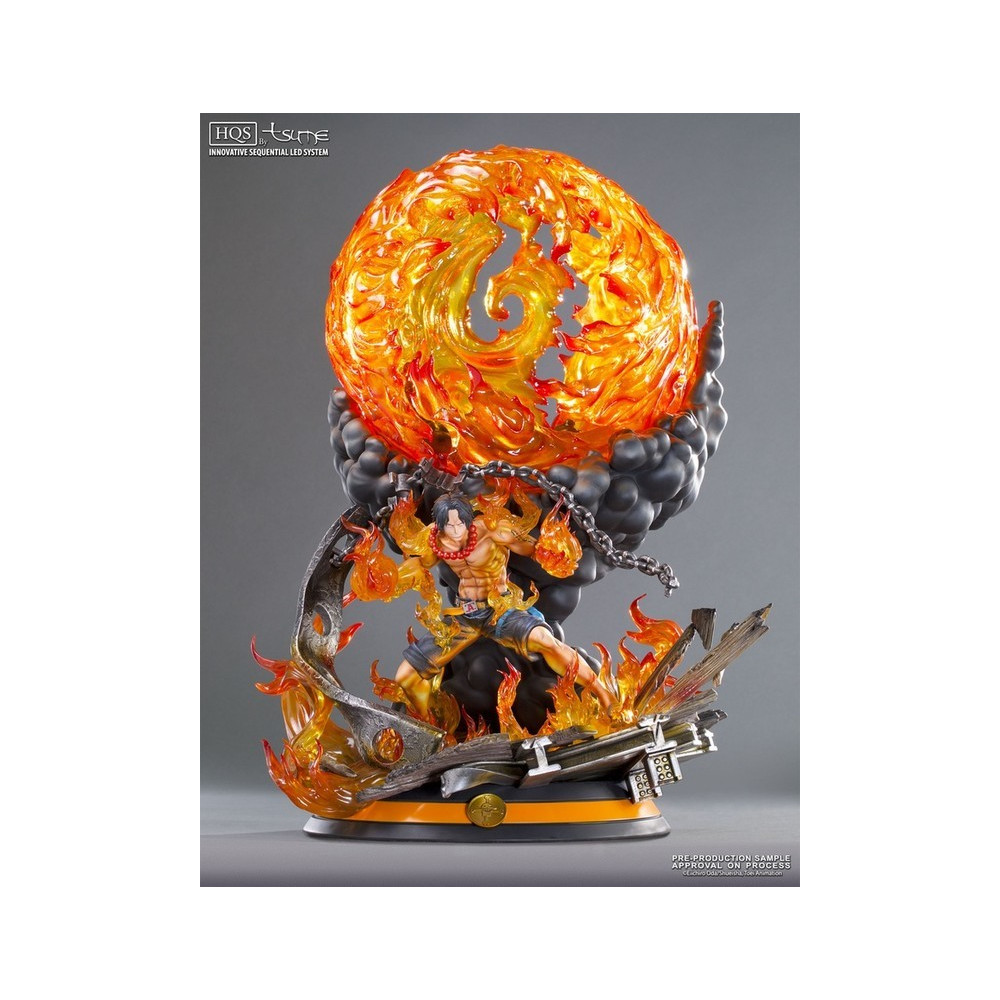 Tsume statue one piece portgas d ace hqs figurine collector - Poster one piece pas cher ...