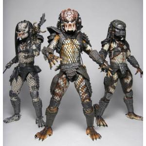 DeathFist Neca-predators-serie-4-set-complet