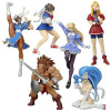 Yamato Fighting Evolution Capcom Trading figure Set complet