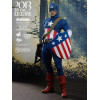 Hot Toys Captain America Figurine 1/6 Star Spangled Man