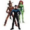 DC Direct Pack Batman The Hush pack figurines Scarecrow, Nightwing et Poison Ivy