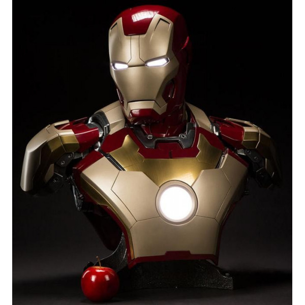 Produits Dérivés / figurines pop  disney / Iron Man 3  Buste 1/4 War