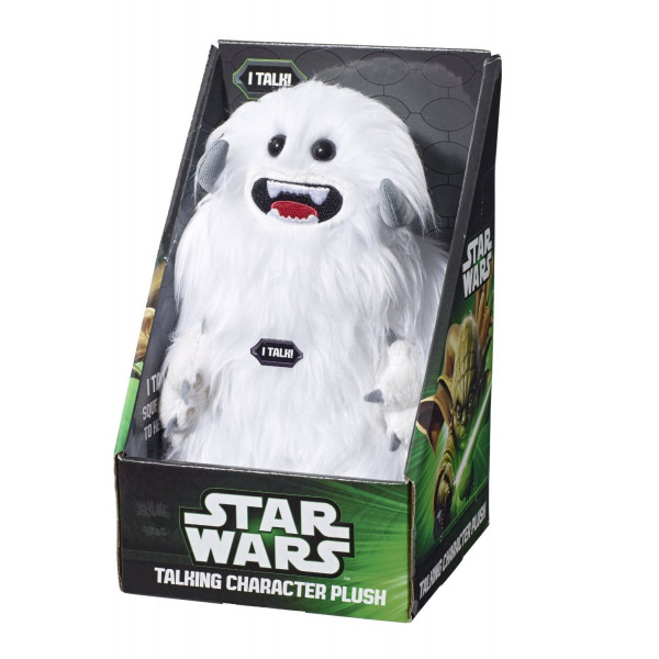 star wars peluche parlante wampa figurine collector. Black Bedroom Furniture Sets. Home Design Ideas