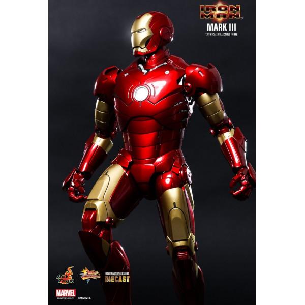 hot toys iron man figurine diecast 1/6 mark iii