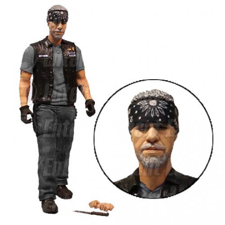 Mezco Sons of Anarchy figurine Clay Morrow EE Exclusive 15 cm