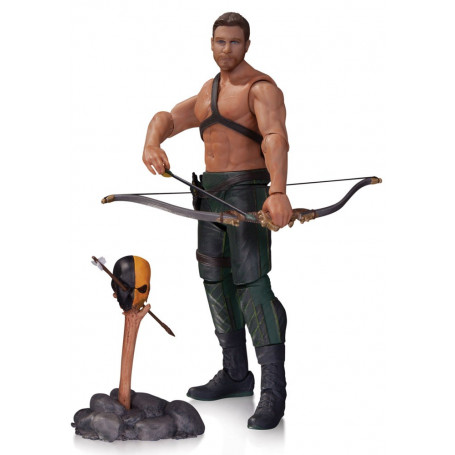 DC Direct Arrow figurine Oliver Queen & Totem