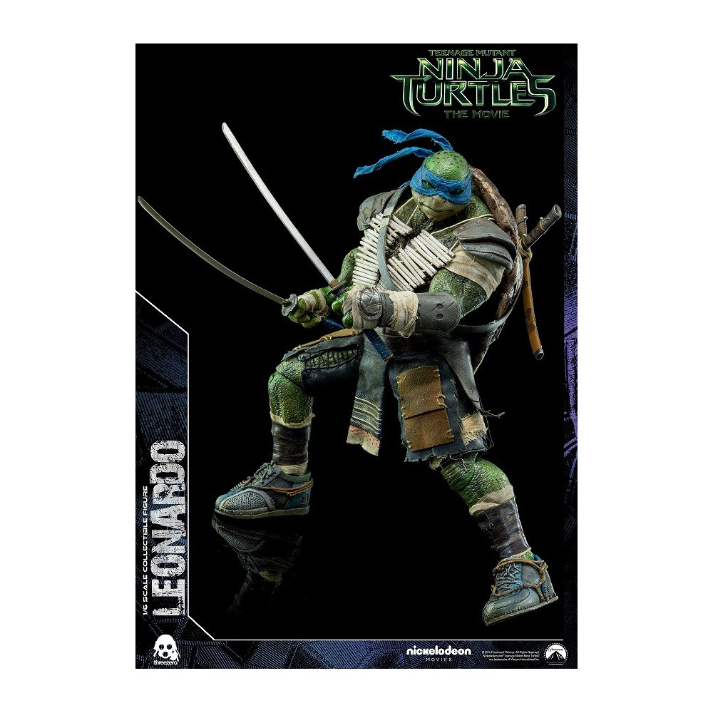 Threezero tmnt tortues ninja figurine leonardo figurine collector - Tortues ninja leonardo ...