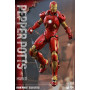 Hot Toys Iron Man Figurine Pack Mark IX et Pepper Potts