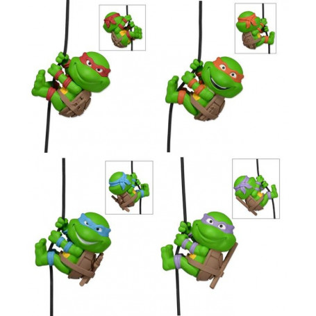 Neca Scalers Tortues Ninja Set Complet