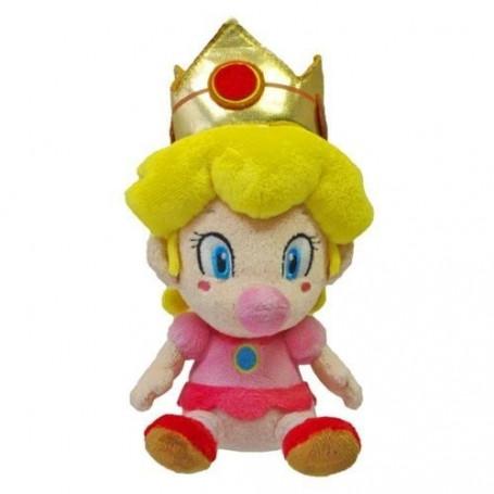 Super Mario Kart Peluche Bébé Peach 15 cm