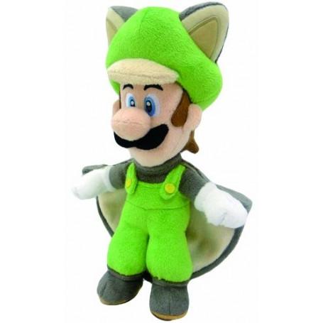 Nintendo Peluche Super Mario - Luigi Ecureuil 25 cm