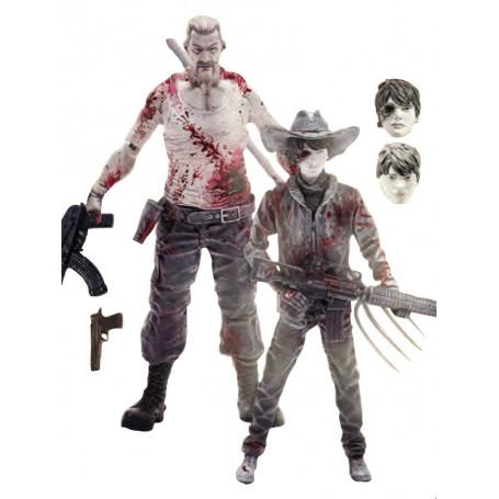 Mcfarlane Comics Walking Dead 2 Pack PX -