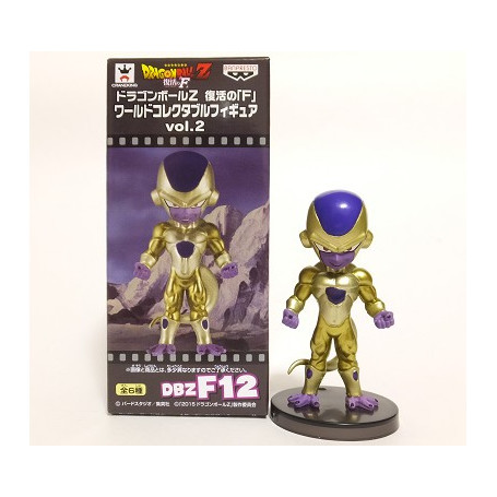 Banpresto Dragon ball Z WCF New Movie Gold Freezer