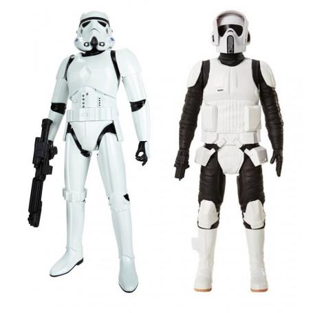 Jakks Pacific Star Wars Pack de 2 - Storm trooper et Scout Trooper