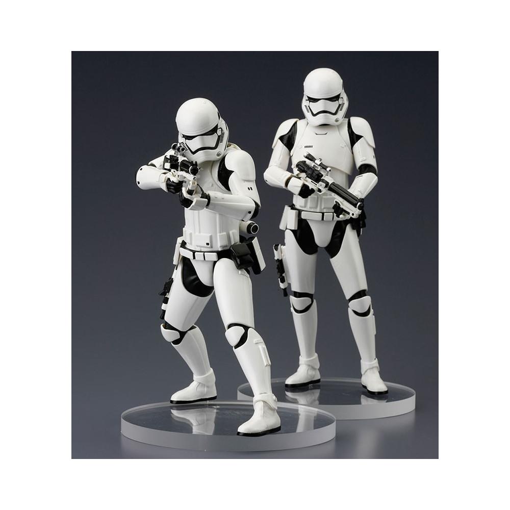 Nuevo Kotobukiya Star Wars Artfx 1//10 Paquete de 2 Figuras De Stormtrooper
