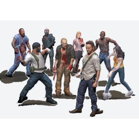 McFarlane Walking Dead Building set Serie 2 - Figure Aleatoire