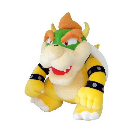 NINTENDO - Peluche Mario Bros Wii 40cm Bowser