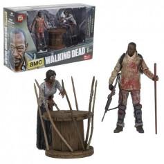 McFarlane Walking Dead TV Deluxe Morgan et Zombie empalé