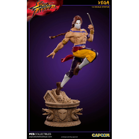 Pop Culture Shock Statue 1/4 Vega Street Fighter