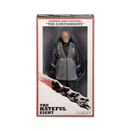 "Neca Hateful Eight Tarantino General Sandy Smithers ""The Confederate"""