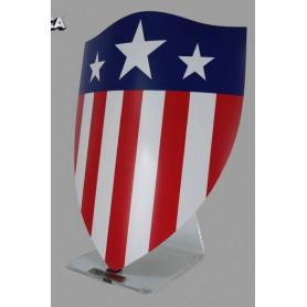 King Arts Captain America Bouclier triangle socle 1/1