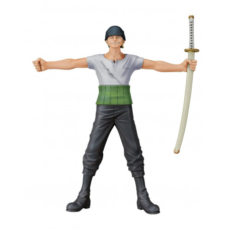 Banpresto One Piece Figurine Roronoa Zoro Dramatic Showcase, saison 7 volume 1