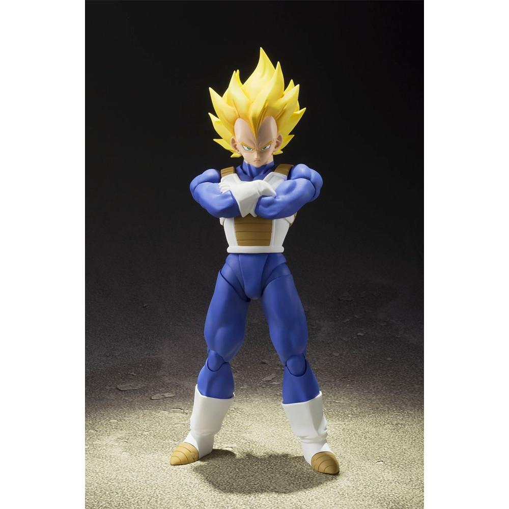 Bandai Dragon Ball Z Super Saiyan Vegeta Figuarts Ebay