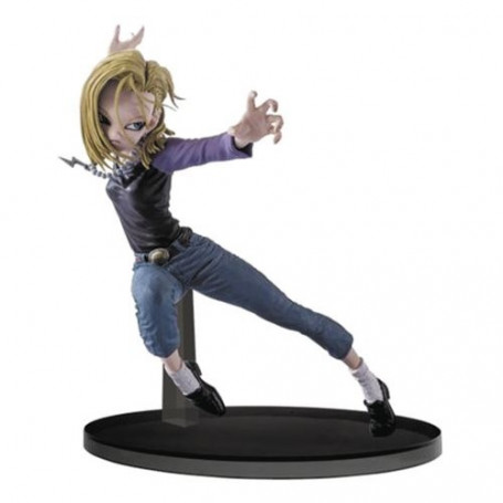Banpresto Dragon Ball Super Figurine C18 Colosseum Android 18