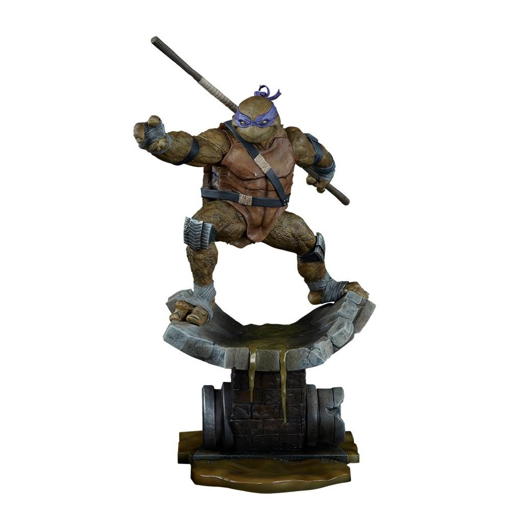 Sideshow les tortues ninja statue donatello figurine - Tortues ninja donatello ...