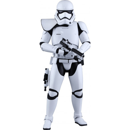 Hot Toys Star Wars VII First Order Stormtrooper Squad Leader Exclusive