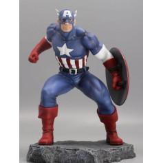 Marvel Civil War Figurine PVC Captain America 1/8