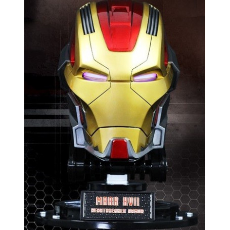 Imaginarium Iron Man Casque Mark 17 Heartbreaker Taille réelle