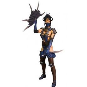 Mezco Mortal Kombat X série 2 figurine Kotal Kahn