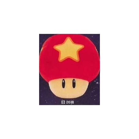 Bandai - Super Mario Galaxy Peluche Champignon