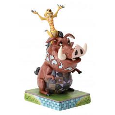 Enesco Disney Traditions Le Roi Lion Pumba et Timon Hakunà Matata