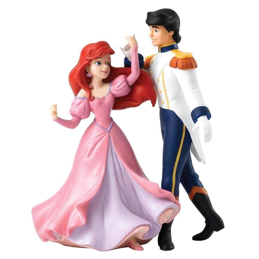 Enesco disney enchanting la petite sirene ariel et eric figurine collector - Ariel petite sirene ...