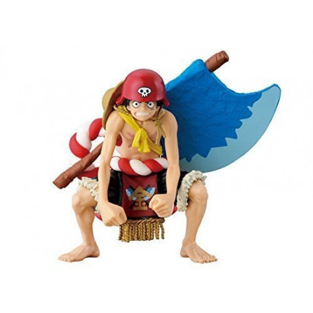 Banpresto One Piece Luffy Scultures Colosseum Gold Movie