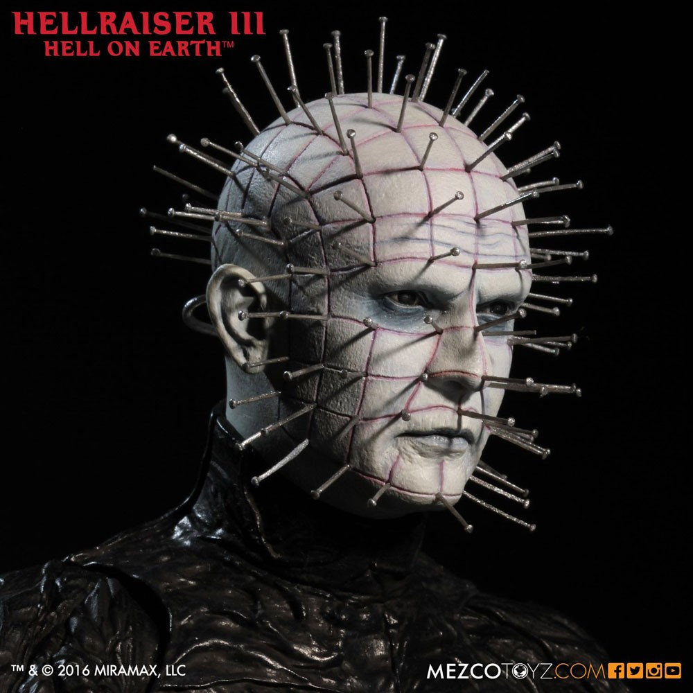 mezco hellraiser iii figurine 16 pinhead figurine collector