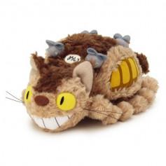 Studio Ghibli Peluche Fluffy Cat Bus - M