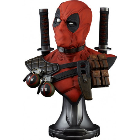 Sideshow Deadpool Lifesize Buste Marvel