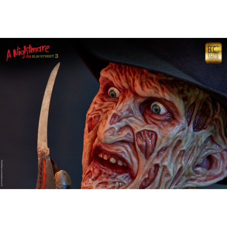 Elite Creature Collectibles Freddy Krueger Buste taille réelle