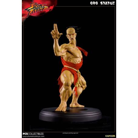 Pop Culture Shock Street Fighter Statue Oro