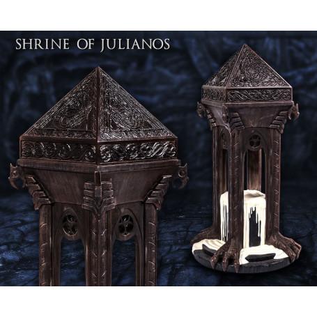 Gaming Heads Shrine of Julianos Statue The Elder Scrolls V Skyrim