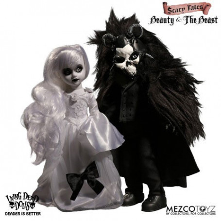 Mezco Beauty and the Beast Living Dead Dolls Scary Tales pack poupées