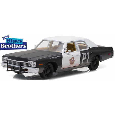 GreenLight Blue Brothers Dodge Monaco 1/24 Hollywood Series v1