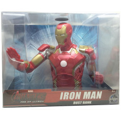 Monogram Marvel: Iron Man Bust Bank