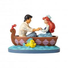 Enesco Disney Traditions La petite sirene Ariel et Prince Eric