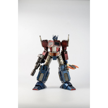 Three A- Transformers figurine Optimus Prime Classic Edition
